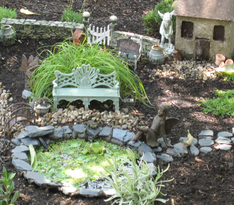 Fairy gardens archives dragonfly aquatics for Mini garden pond